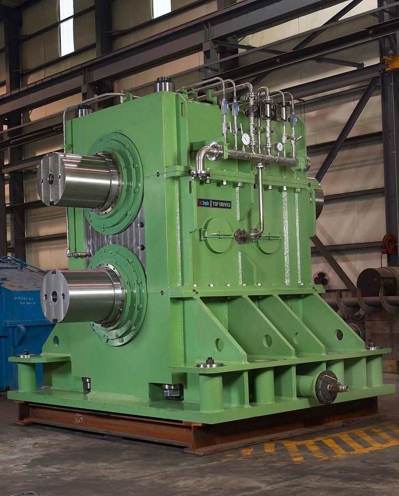 Versnellingsbak vir koue aluminiumrolmasjien