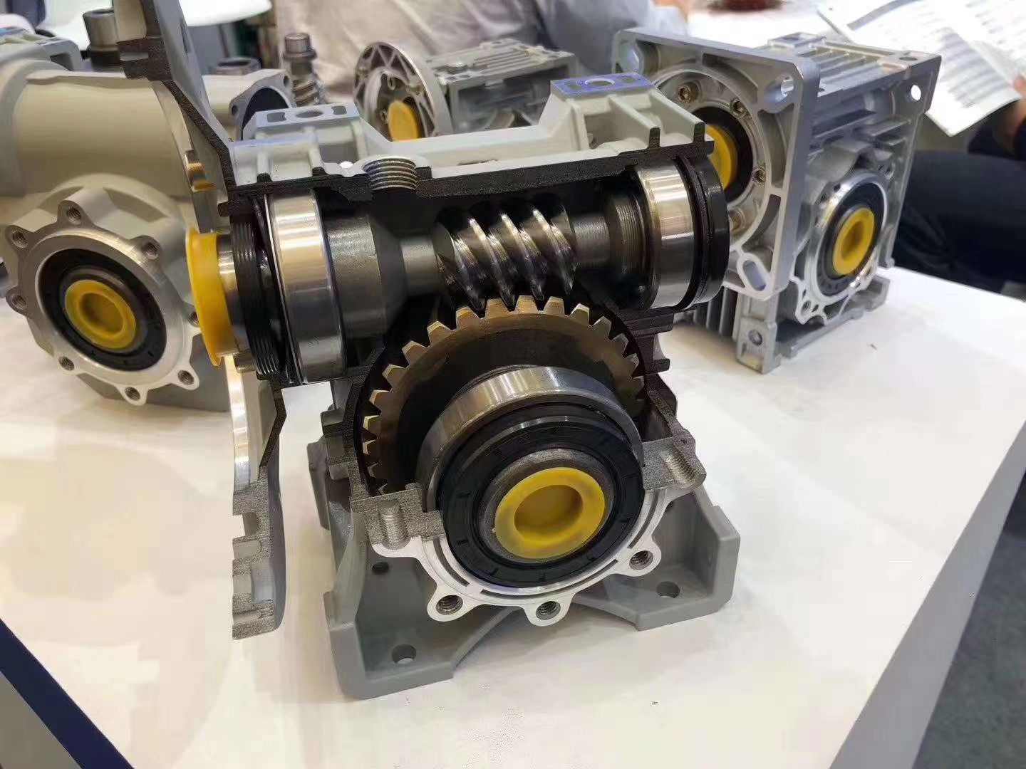 High quality Horizontal helical worm worm gear in stock