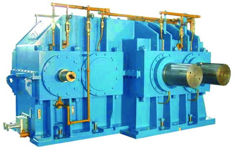Gearbox for cold aluminum rolling machine