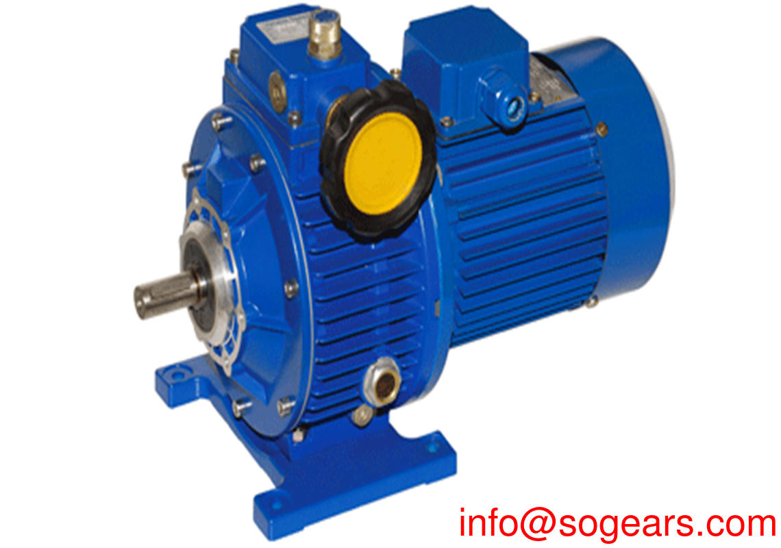 mechanical variator gearbox