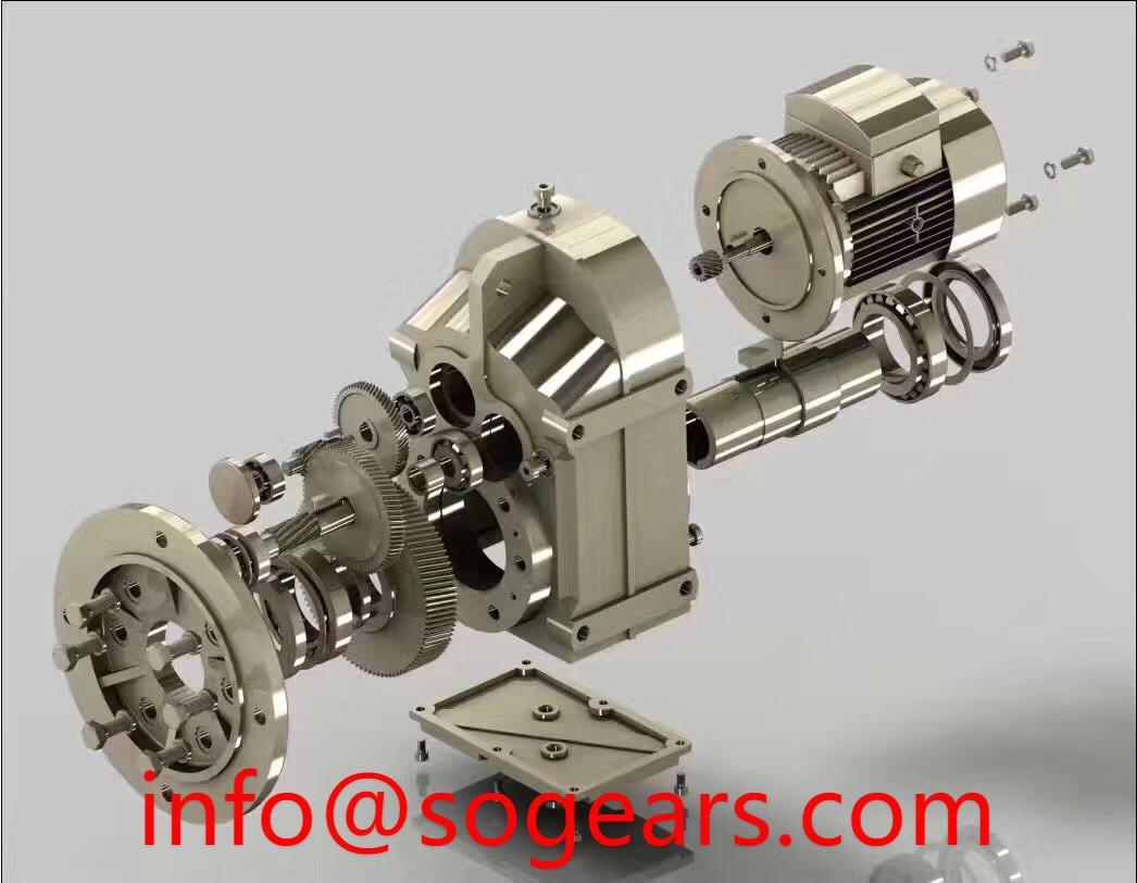 offset gear reducers