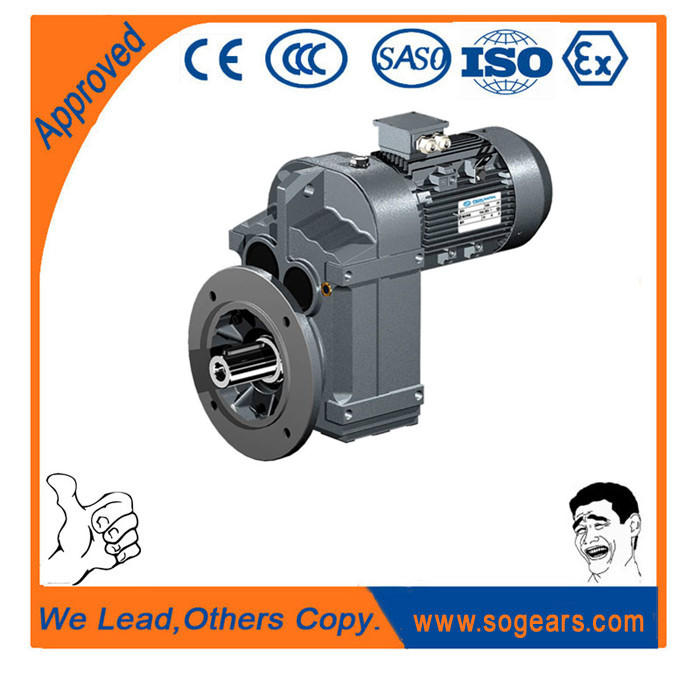 F Series Parallel Shaft Helical Gearboxes