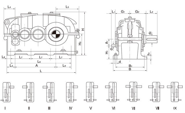 advantages of speed reduction gearbox