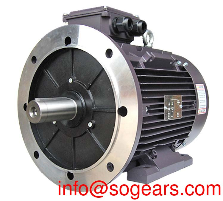 10 hp electric motor shaft size
