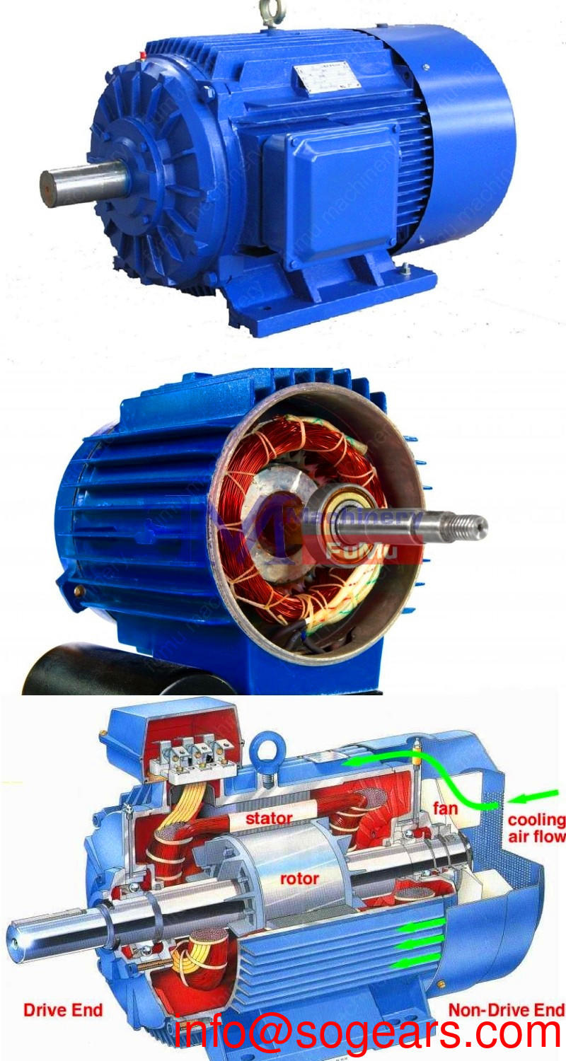 2 hp electric motor 3450 rpm tefc