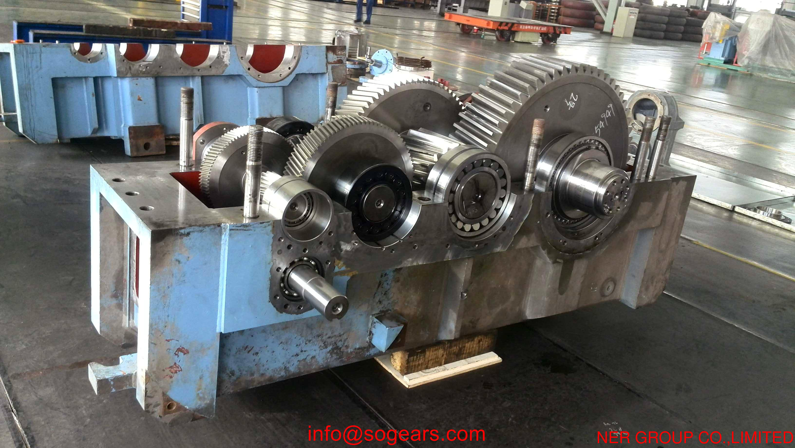 parallel shaft gear reducer gearbox