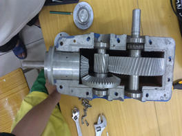Speed increaser gearbox