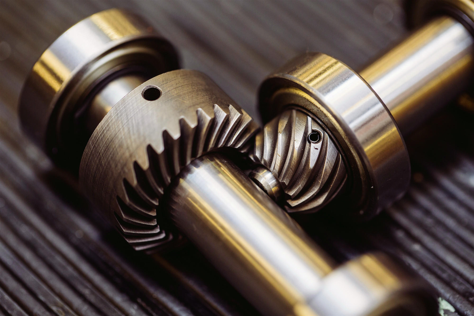 Which of the following is not an advantage of helical gears