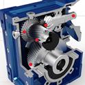 Hypoid Motor