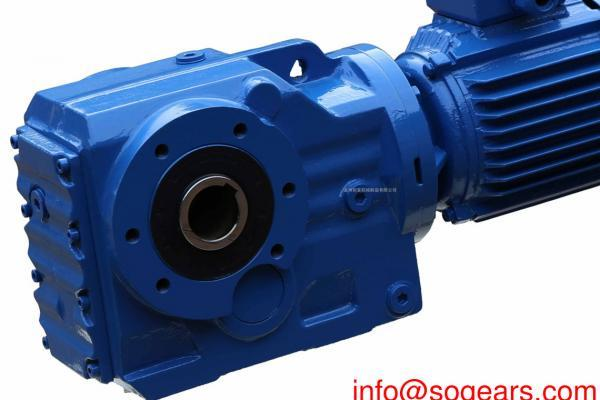Electric motor reducer