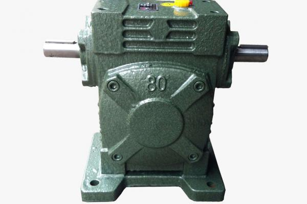 Worm wheel gearbox