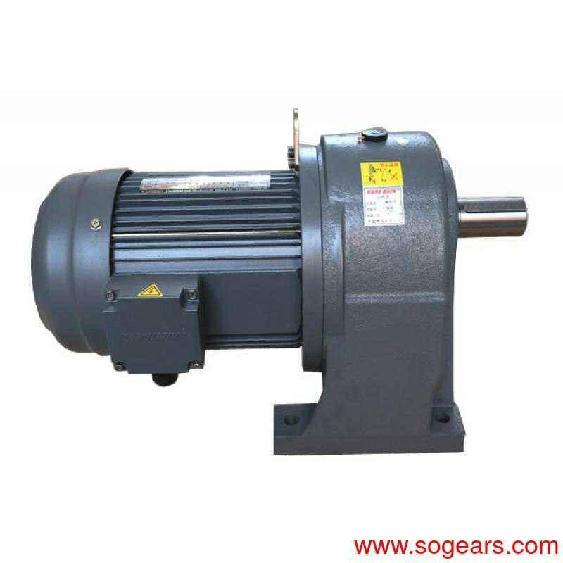 Helical-Worm Gear Reducer right angle gear motor rotisserie.