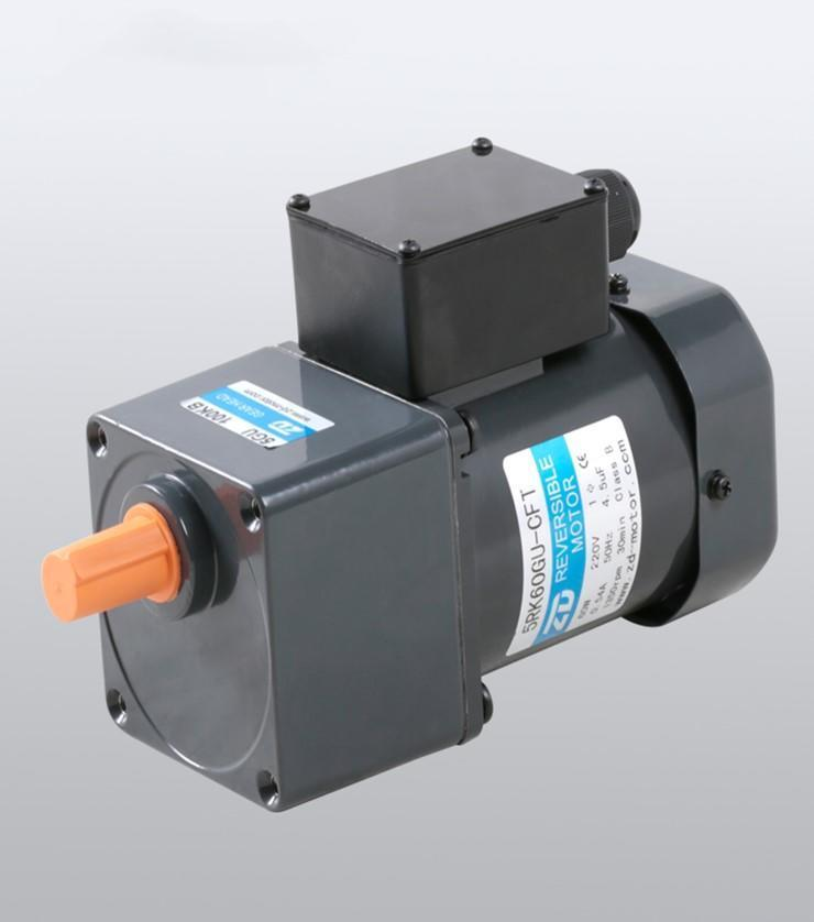 single phase motor with reduction gearbox